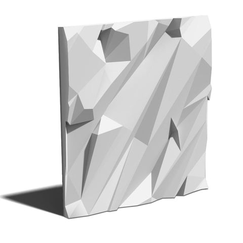 """Crushed Rock"" 3D Wall Panel Model 04, [shop-name]"
