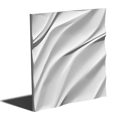 """Waves"" 3D Wall Panel Model 01, [shop-name]"