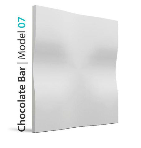 3D Wall Panel - CHOCOLATE BAR, [shop-name]