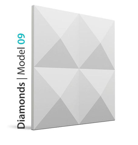 3D Wall Panel - DIAMONDS, [shop-name]