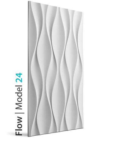 3D Wall Panel - FLOW, [shop-name]