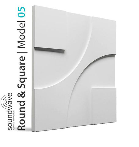 3D Wall Panel - ROUND & SQUARE, [shop-name]