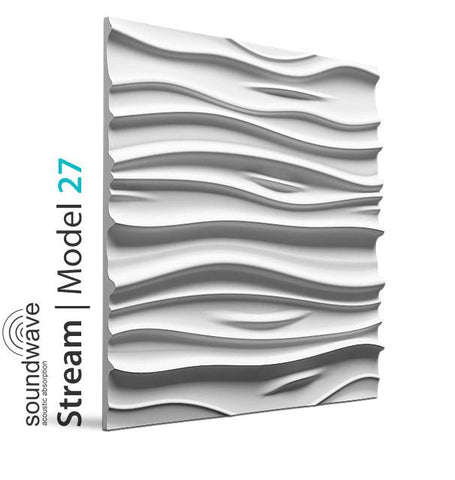 3D Wall Panel - STREAM, [shop-name]