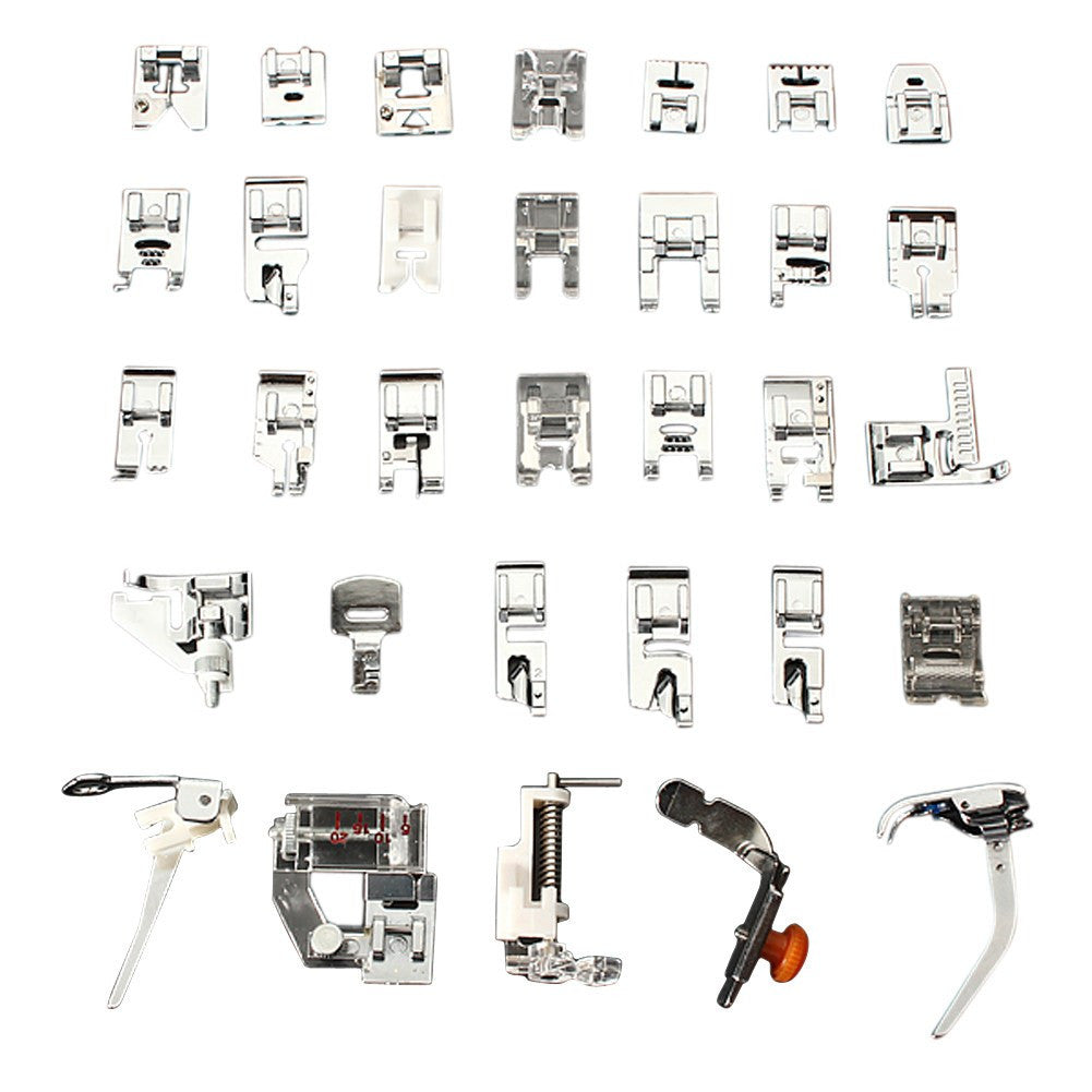 32 Piece Sewing Machine Presser Foot Set For Brother