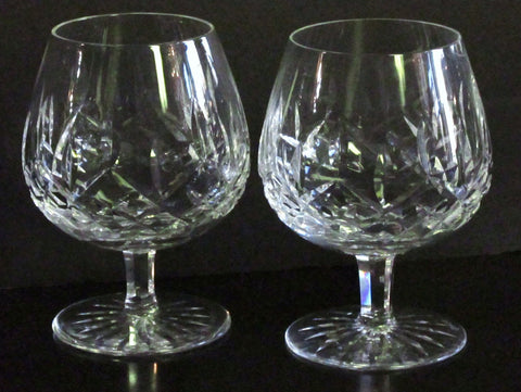 Irish Waterford Crystal Lismore Pattern Brandy Snifter 5 inches Talll