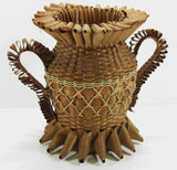 Native American Penobscot Basket From Maine C. 1900-1910