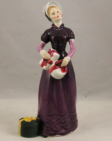 "Royal Doulton Lady ""Good Day Sir"" HN2896 Copr 1985"
