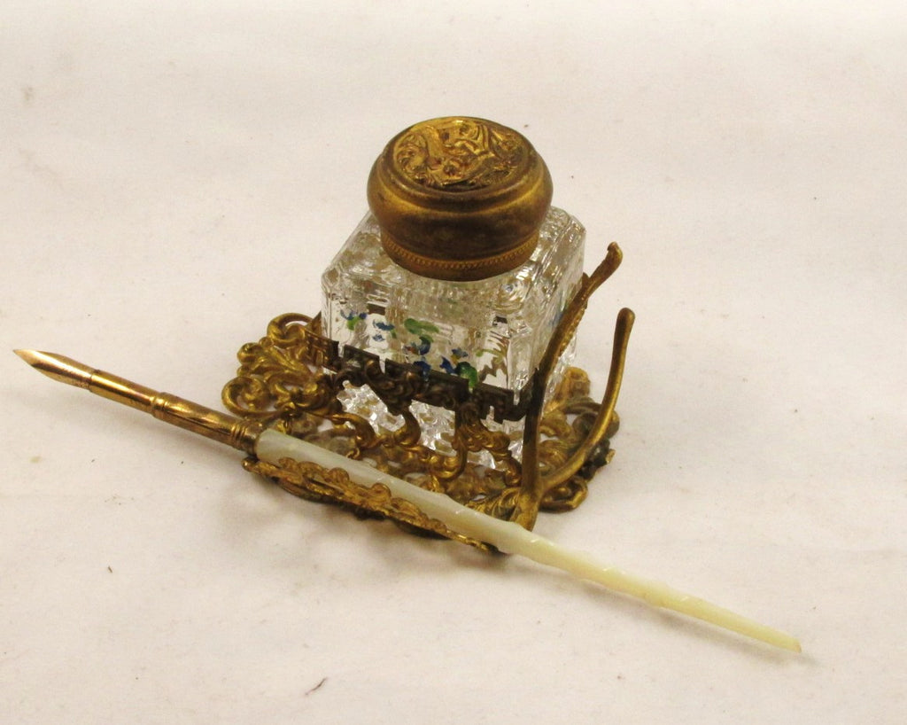 Mother of Pearl Dip Pen Spiney Shaft
