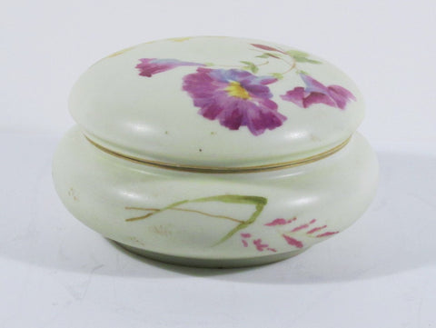 Royal Rudolstadt Hand Painted Porcelain Puff Box C. 1890