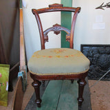 American Child's Chair Rennaissance Revival C. 1870