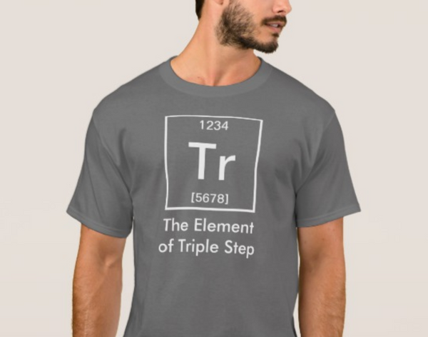 Short Sleeve Men's T-Shirt - The Element of Triple Step