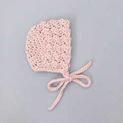 Dusty Pink Bonnet