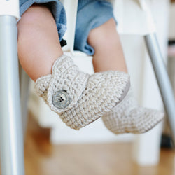 Cashmere - Baby Shoes Handmade by Raspberriez