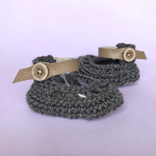 Charcoal Anklet