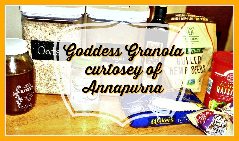 Holy Goddess Of Grains! Annapurna inspires Granola