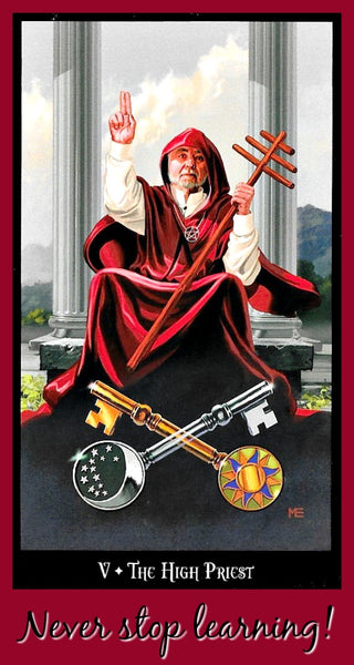 The High Priest - Witches Tarot