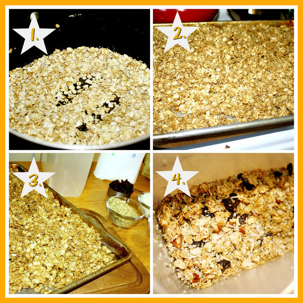 Steps of Granola