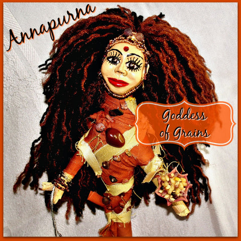 Annapurna Spirit Doll - Heather's Mystical Haven - 1