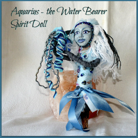 Aquarius Spirit Doll