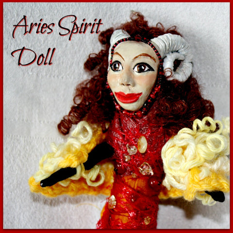 Aries Spirit Doll