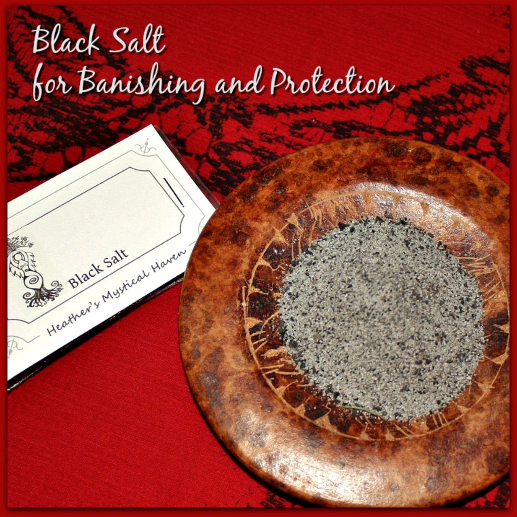 Black Salt for Banishing and Protection - Heather's Mystical Haven - 1