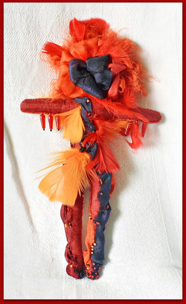 Burning Woman Art Doll - Heather's Mystical Haven - 3