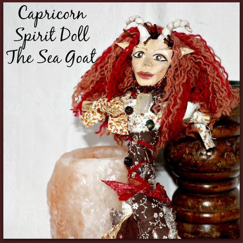Capricorn Spirit Doll