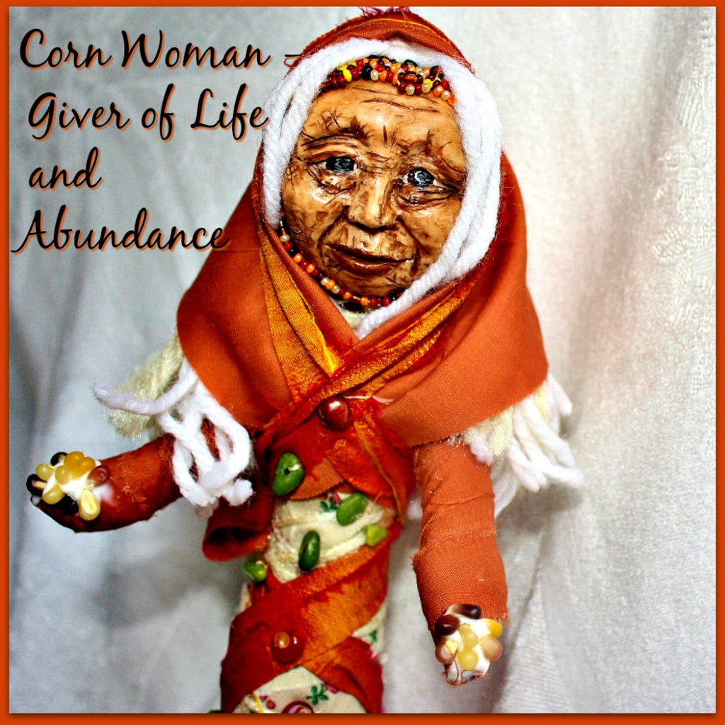 Corn Woman Spirit doll