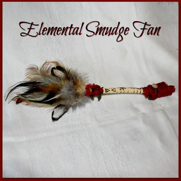 Elemental Smudge Fan