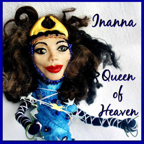 Inanna Spirit Doll -  Queen of Heaven - Heather's Mystical Haven - 1
