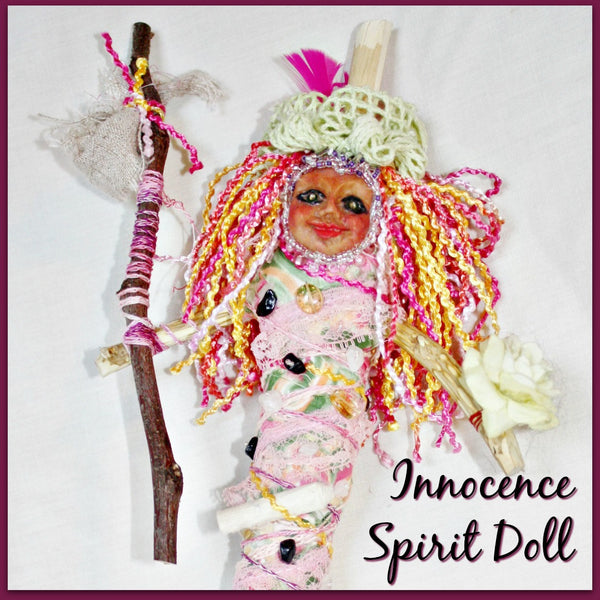 The Innocence Tarot Spirit Doll - Heather's Mystical Haven - 1