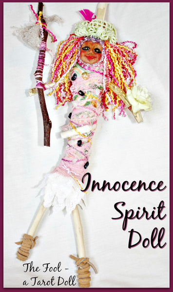 The Innocence Tarot Spirit Doll - Heather's Mystical Haven - 6