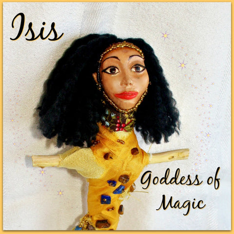 Isis Spirit Doll - Heather's Mystical Haven - 1