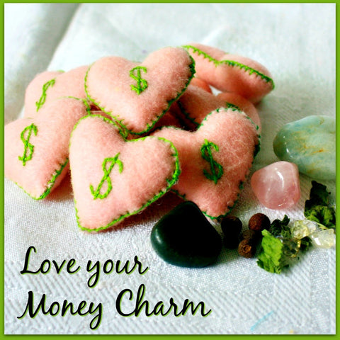 Love your Money Charms - Heather's Mystical Haven - 1