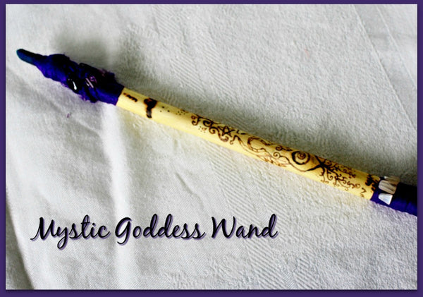 Mystic Goddess Wand - Heather's Mystical Haven - 3