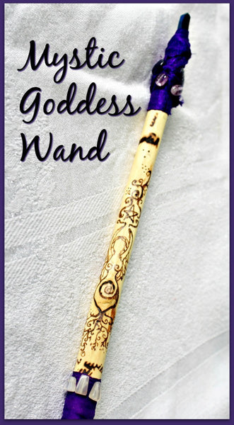 Mystic Goddess Wand - Heather's Mystical Haven - 5