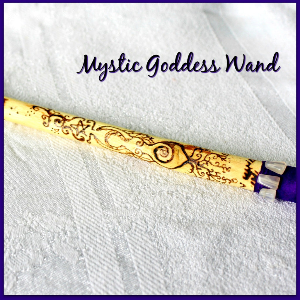Mystic Goddess Wand - Heather's Mystical Haven - 1