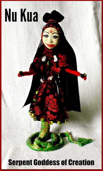 Nu Kua Spirit Doll - Heather's Mystical Haven - 6