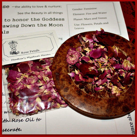 Rose Petals Dried - Heather's Mystical Haven - 2