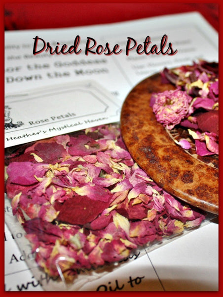 Rose Petals Dried - Heather's Mystical Haven - 3