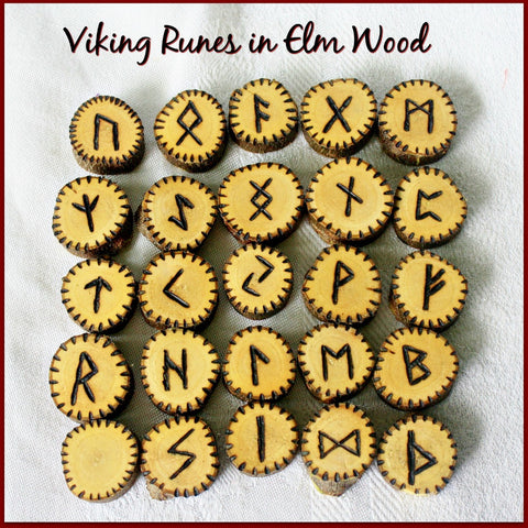 Elm Wood Runes - Heather's Mystical Haven - 1