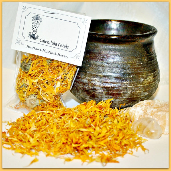 Calendula Petals - Heather's Mystical Haven - 1