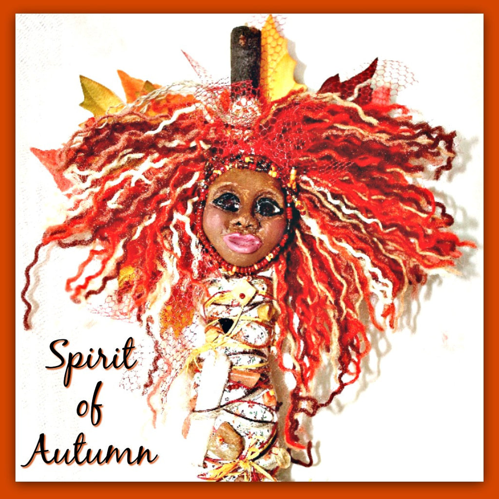 Spirit of Autumn Spirit Doll - Heather's Mystical Haven - 1