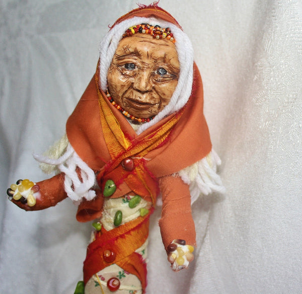 Corn Woman Spirit doll - Heather's Mystical Haven - 1