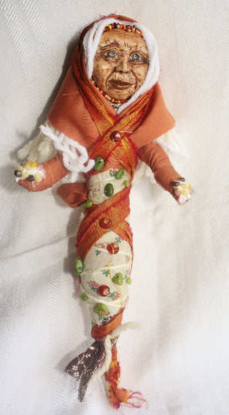 Corn Woman Spirit doll - Heather's Mystical Haven - 2