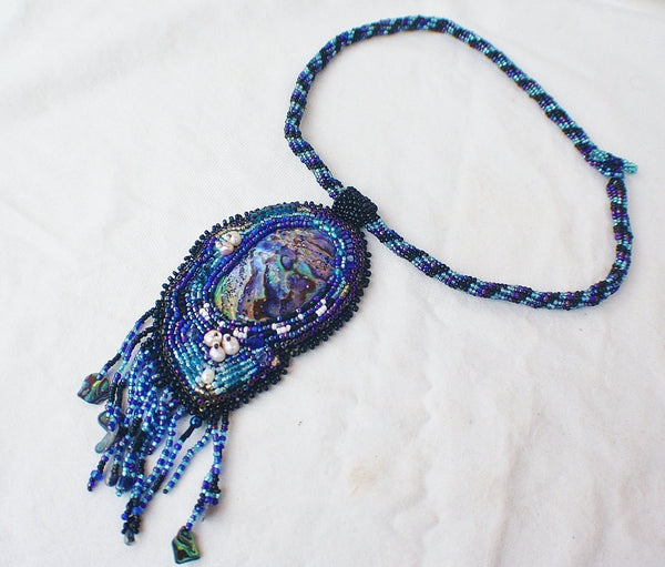 Enchanted Pool Pendant and Necklace - Heather's Mystical Haven - 3