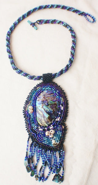 Enchanted Pool Pendant and Necklace - Heather's Mystical Haven - 1