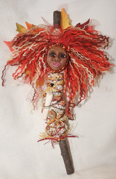 Spirit of Autumn Spirit Doll - Heather's Mystical Haven - 4