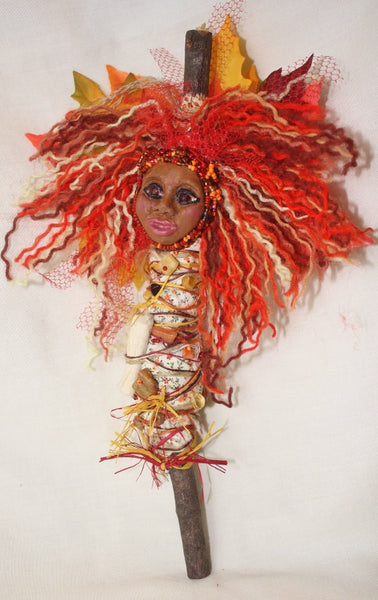 Spirit of Autumn Spirit Doll - Heather's Mystical Haven - 3
