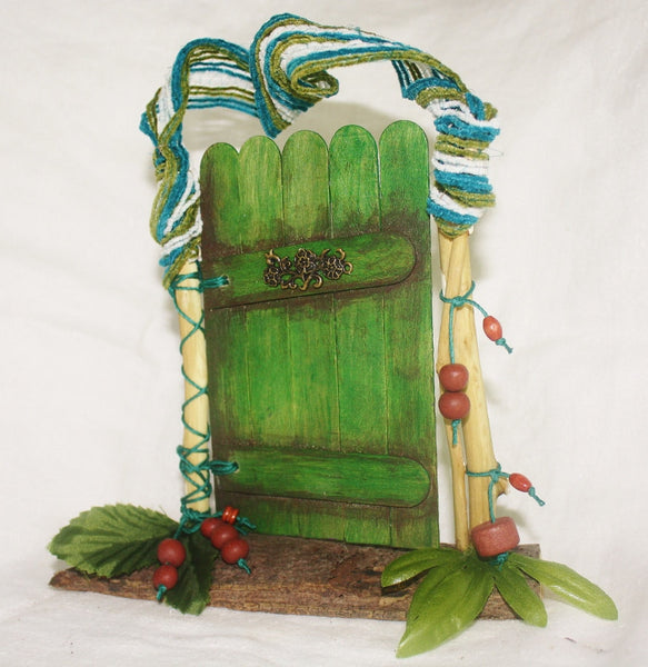 Green Nature Fairy Door - Meditation Aid - Heather's Mystical Haven - 4